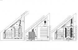 Sport Stadium Design Architecture Layout Plan