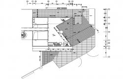 Sports Centre CAD Drawing