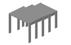 Stacking tables 3d
