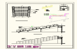 Stair Detail & Elevation also DWG file