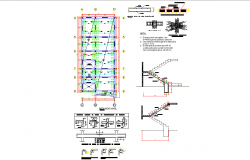 Stair and Beam plan layout file