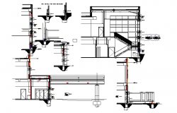 Stair design & section detail.