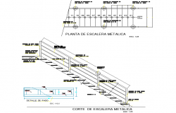 Stair plan and section detail
