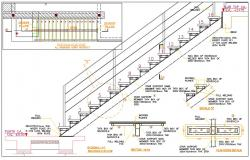 Staircase Drawing DWG File