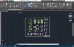 Staircase cad program details