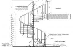 Stairs drawing