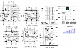 Starbucks building and interiors detail cad files