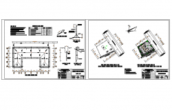 Station medical centre DWG file