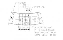 Steel Frame Structure Detail Free CAD File Download