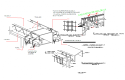 Steel Frame Structure detail