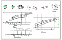 Steel Structure Detail in Autocad file