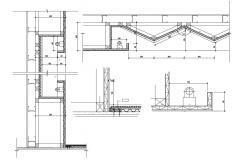 Steel Truss Design CAD Drawing Download