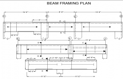 Steel beam framing details