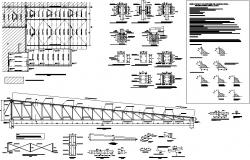 Steel framing detail dwg file