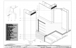 Steel framing detail plan detail dwg.