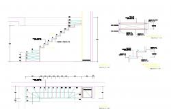 Steel structure office autocad file