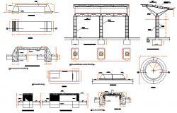 Street Light Construction detail