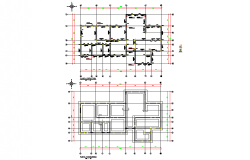 Structural building home plan layout file