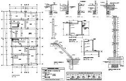 Structural building plan layout file