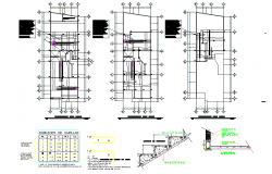 Structural house plan autocad file