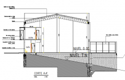 Structural section details