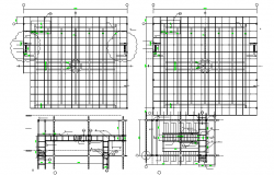 Structure Beam & Column Detail & Cad File