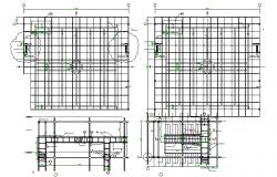Structure Beam & Column Detail & Cad File
