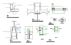 Structure Detail in cad file
