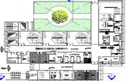 Structure Details of Multi-Specialty Hospital dwg file