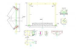 Structure Foundation Design Of Column AutoCAD File