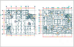 Structure detail view dwg file