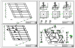 Structure section Detail in autocad file