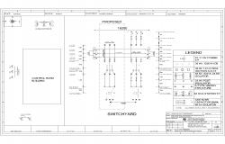 Substation Drawing with 5 MVA Power Transformer
