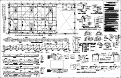 Supermarket project plan detail dwg file.