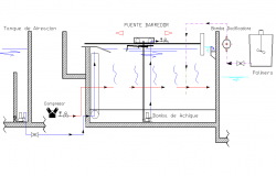 Sweeper bridge plan autocad file