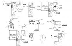 Swimming Pool Channel Design AutoCAD File
