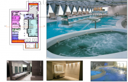 Swimming Pool Project dwg file