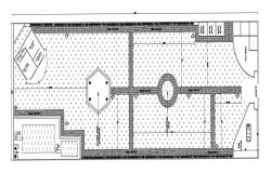 Swimming Pool Top View CAD File
