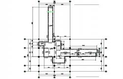 T section detail dwg file
