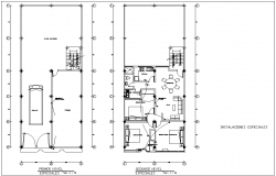 T.V unit and other communication point view with electric view for floor plan of house dwg file