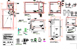 Tank section detail dwg file