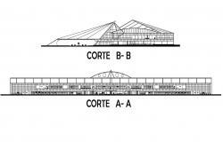 Terminal Building Airport CAD File