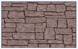 Texture block stone masonry design drawing .
