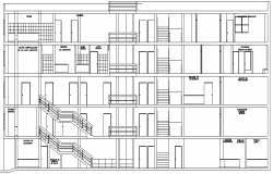 The Architecture Design of Clinic Elevation dwg file.