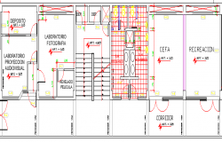 The Architecture Design of College Structure Details dwg file