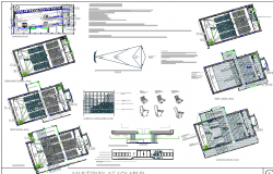 The architecture project details of shopping mall dwg file