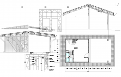 The office plan detail dwg.