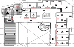 Third floor layout plan details of fish processing plant dwg file