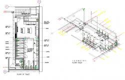 Toilet And Bathroom Plan AutoCAD File