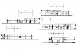 Toilet Design CAD Drawing Download